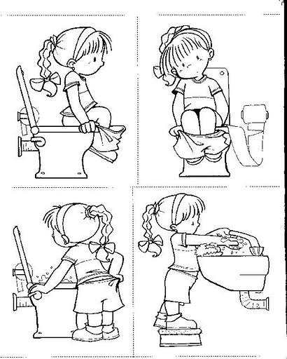 Baños Para Kinder Medidas:Actividades De Secuencia Para Ninos