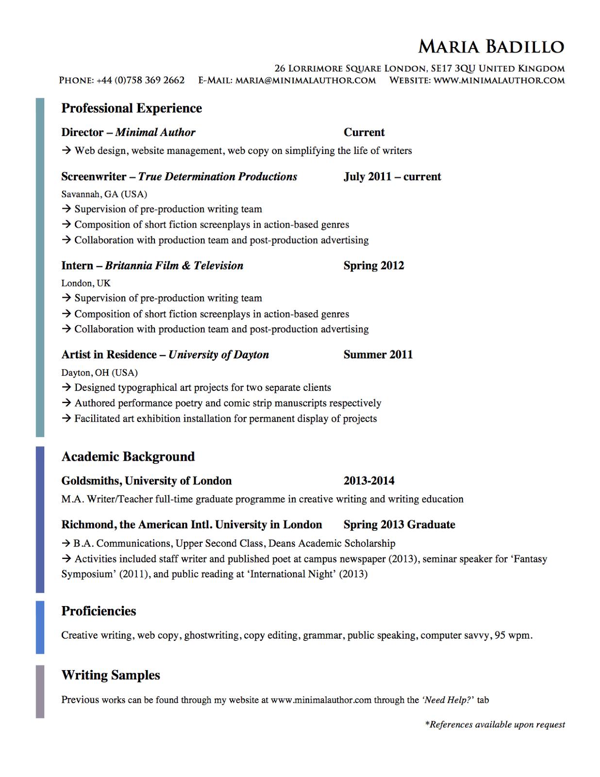 irene chans resume pg 4 american university resume help american