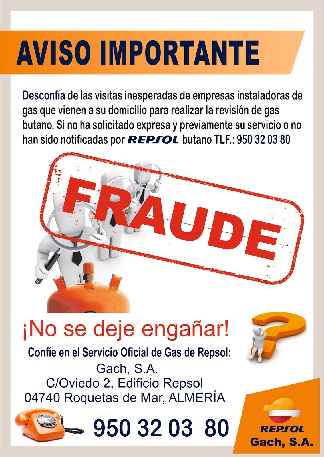 A todo Gas Con Gach Repsol: REVISIÓN DE GAS BUTANO