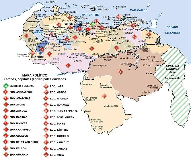 FOTOS DIBUJOS CULTURA GEOGRAFIA: DIBUJOS DEL MAPA DE VENEZUELA