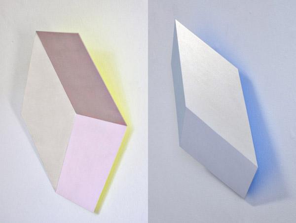 Henriëtte van 't Hoog - Cubes - Silver, Pink