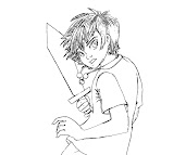 #9 Percy Jackson Coloring Page