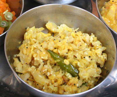 Cabbage Moong Dal Fry