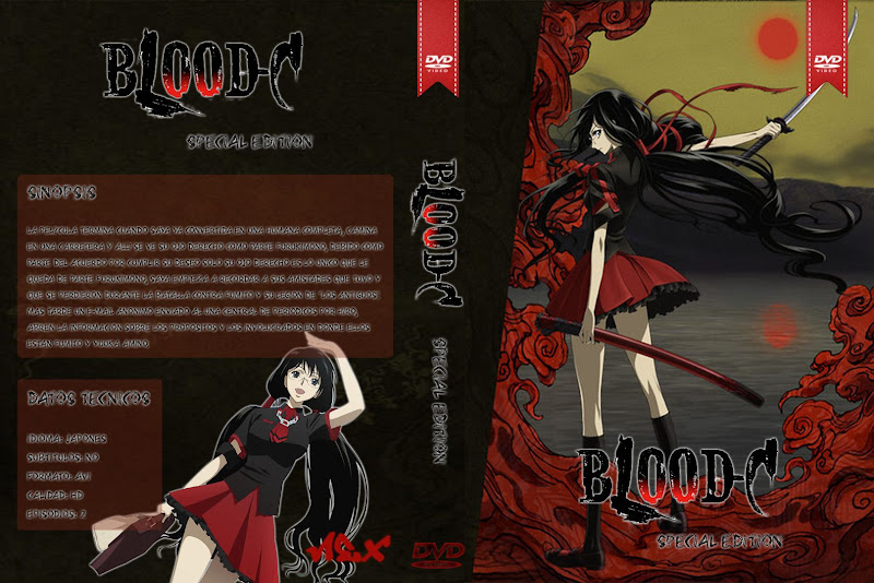 Capa DVD Blood C Special Edition