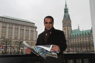 مهندس وکیلیصاحب کمپانی مشهور فان آلمان ثروت خود را در راه کودکان یتیم و مستمندان ایرانی قرار داده