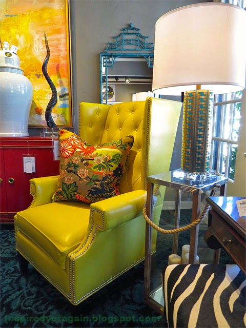 Maybe Itu0027s The Whole Vignette. A Stylish Gold And Turquoise Lamp, The  Very Red Credenza, Bold Art, Turquoise Mirror, And Just A Bit Of Zebra, ...