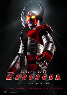 Ver online:Karate-Robo Zaborgar (電人ザボーガー / Denjin Zabôgâ: Gekijô-ban / Denjin Zaborger: The Movie) 2011