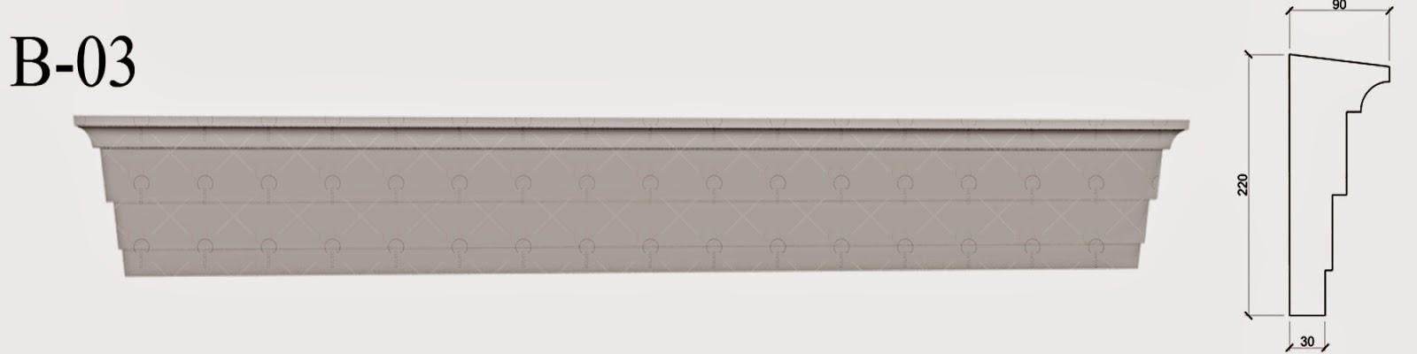 Brau Polistiren - Fatada Casa producator profile decorative polistiren