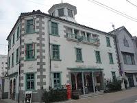 木造3階、八角塔屋付の擬洋風校舎・旧開知学校