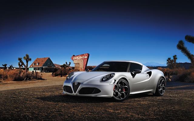 2014 Alfa Romeo 4c Launch Edition Wallpapers
