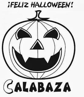 Calabazas de Halloween para Pintar, parte 2