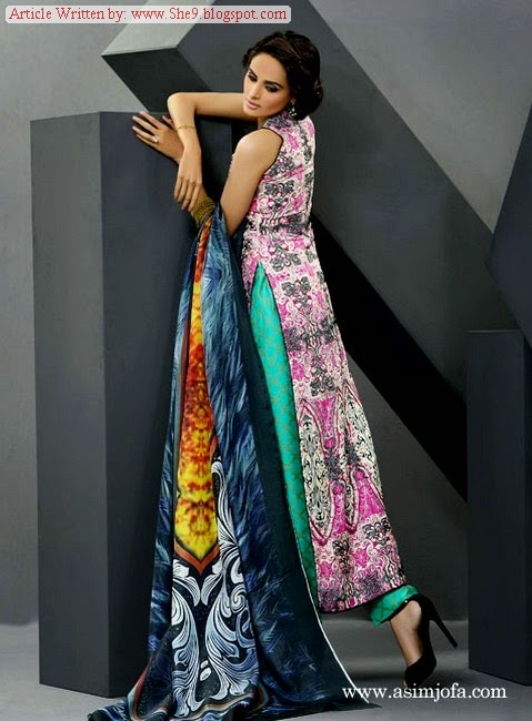 New Summer Collection of Asim Jofa