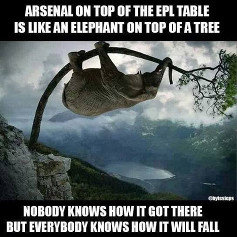 Arsenal made fun of