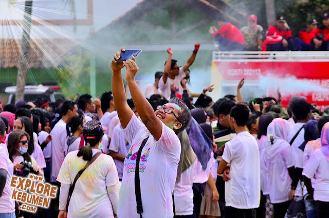 Color Run Festival Kutowinangun Kebumen