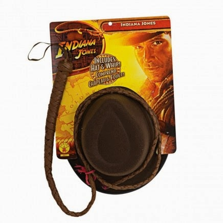 Sombrero y Látigo de Indiana Jones