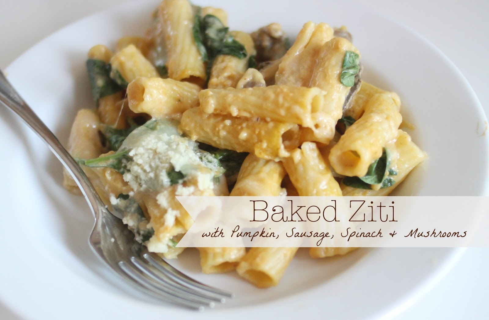 ... baked ziti with mushrooms and spinach low fat spinach ricotta pasta