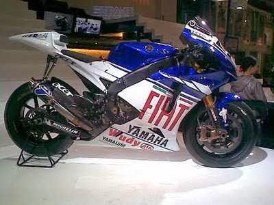 Modifikasi Yamaha Vixion ala motogp