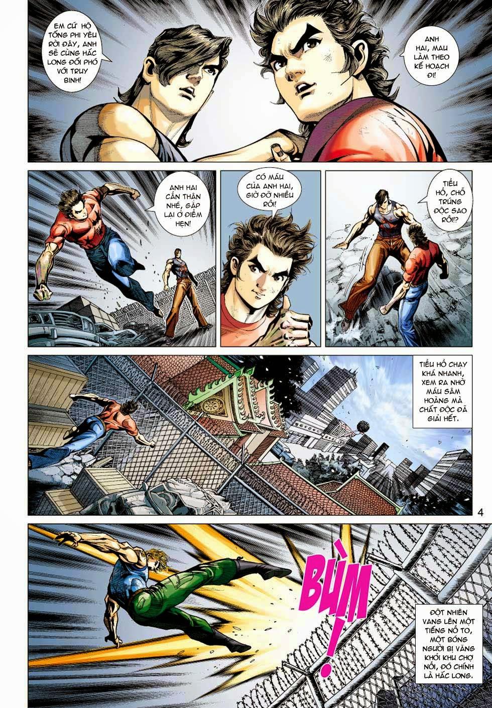 Tân Tác Long Hổ Môn chap 354 - Trang 4