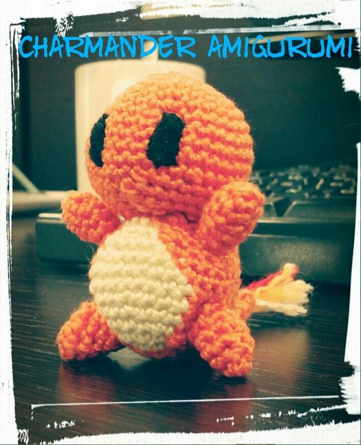 Charmander Amigurumi Patron Gratis : Los chiribiquis de Winga: Charmander amigurumi