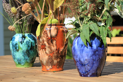 Brush McCoy Onyx Pots