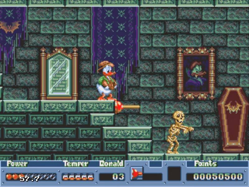 [Análise Retro Game] - QuackShot estrelando Pato Donald - Mega Drive Quackshot