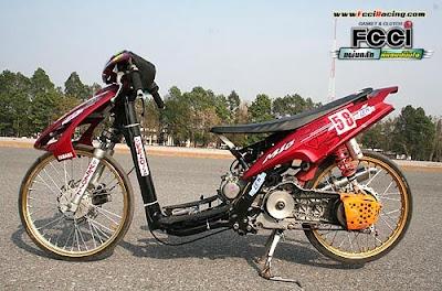 yamaha mio drag bike