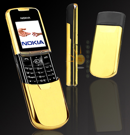 Nokia gold ~ FANTASTIC MOBILES MODELS