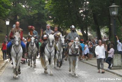 Cavaleiros da Viegem Mediaval 2012