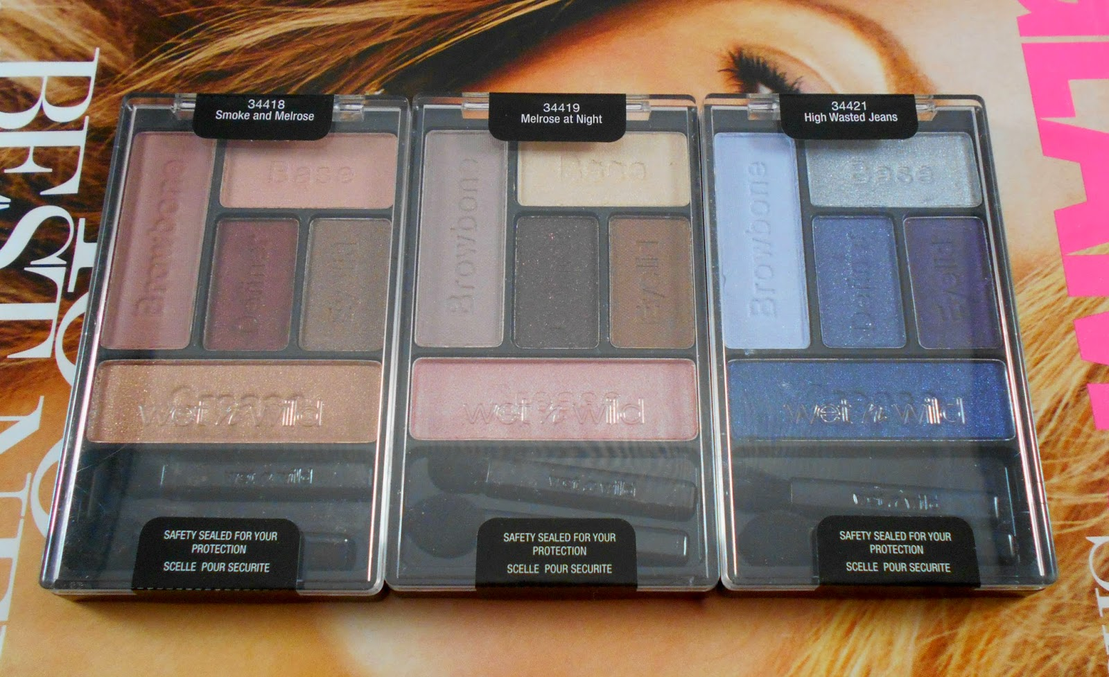 Wet n Wild Fall 2014 Limited Edition Eyeshadow Palettes