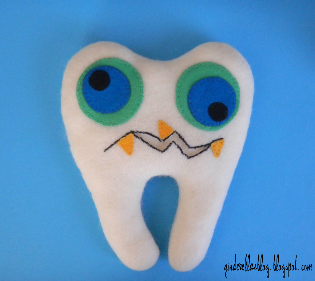 ginderellas: Monster Tooth Fairy Pillow