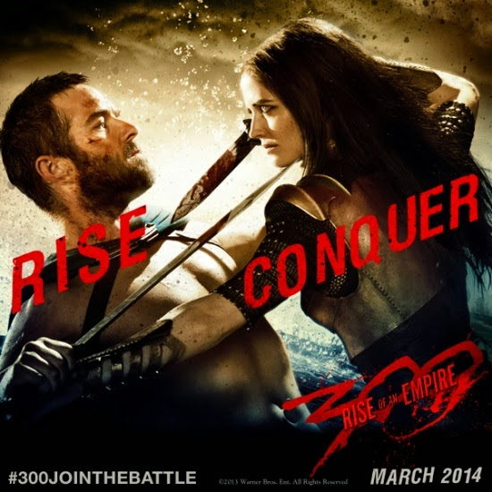 what is the story of 300 rise of an empire teaser trailer