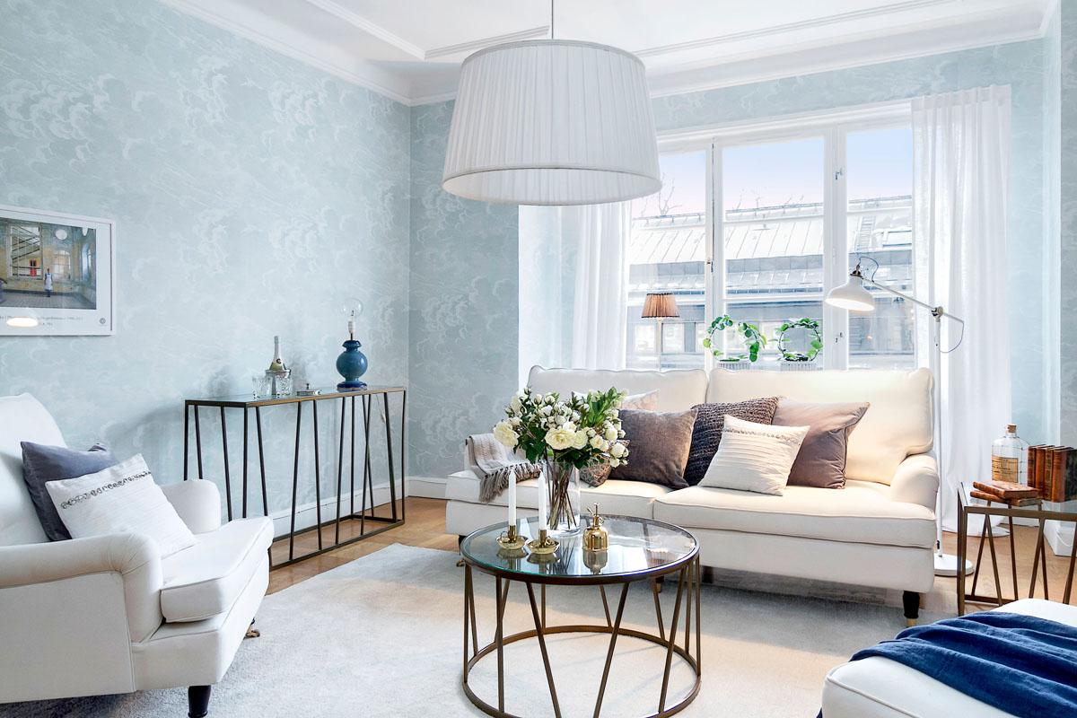 a calm living room