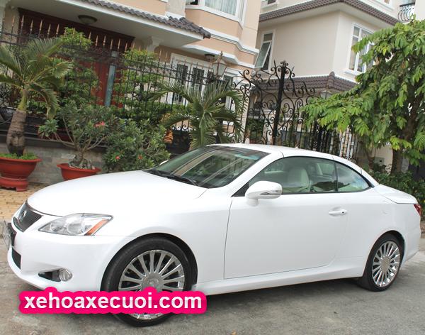 Cho thuê xe tháng Lexus IS 250C