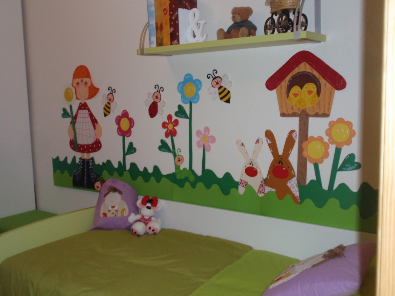 Salon de clases decorado de primavera - Murales para salon ...