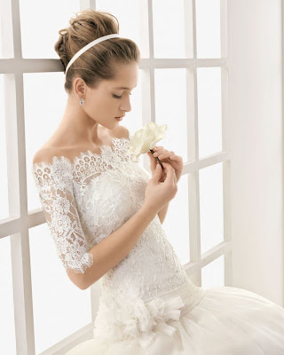 Normally white wedding dresses are used in modern world european