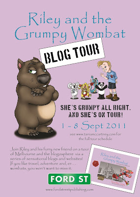http://taniamccartney.blogspot.com.au/2011/08/riley-and-grumpy-wombat-blog-tour.html