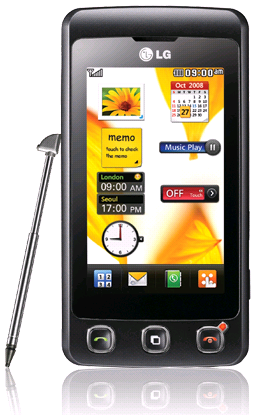 LG KP500 Cookies, Another Mediocre Touch Screen Cell Phone