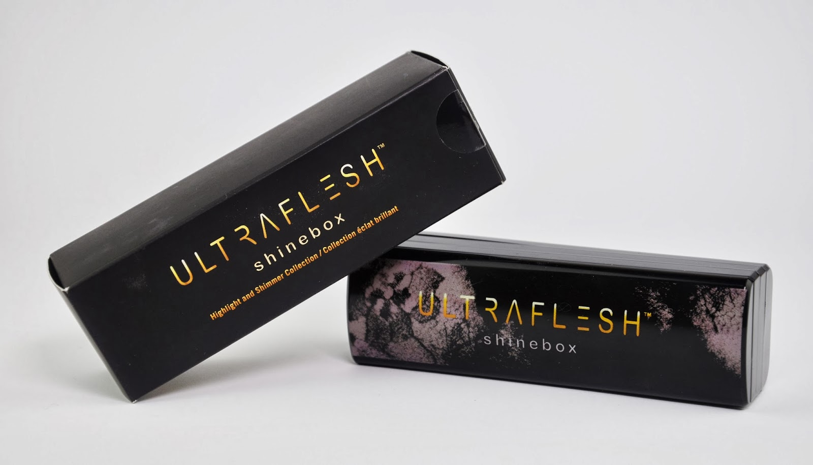 Ultraflesh Shinebox Highlight & Shimmer Collection Review & Swatches