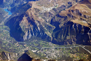 Alpe D'Huez from above