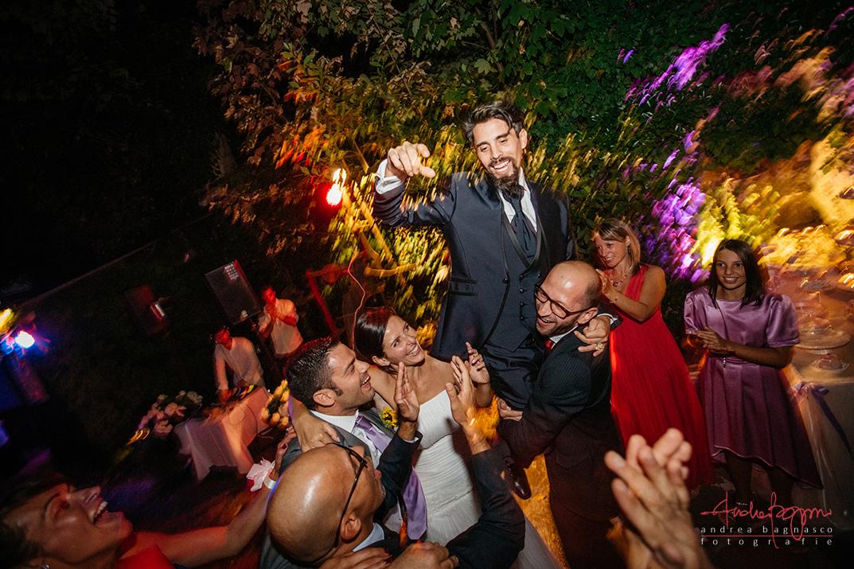festa matrimonio sposo
