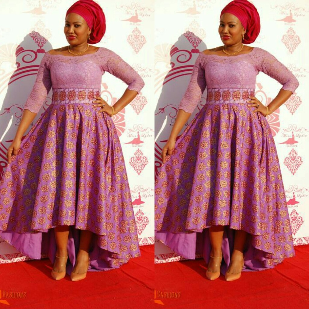 See This Beautiful Long Gown Ankara Styles - DeZango Fashion Zone