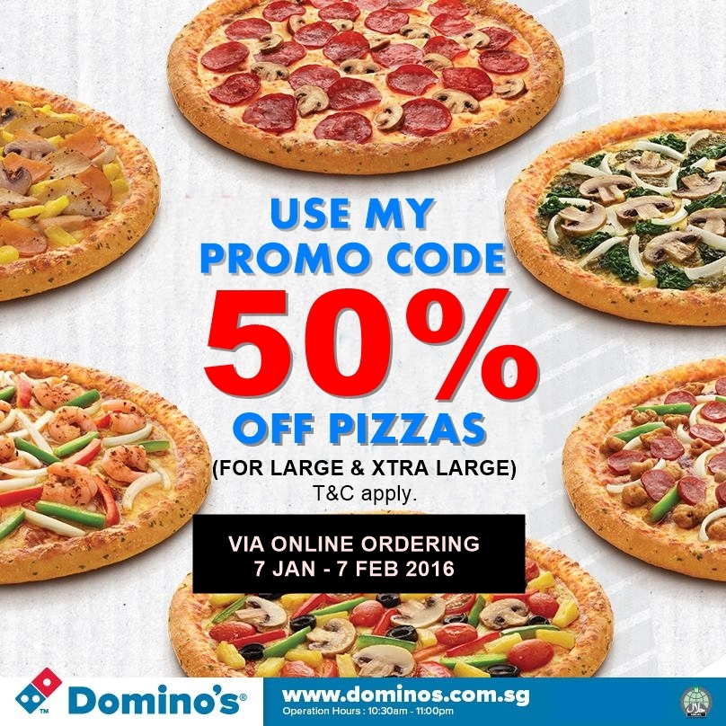 Dominos free discount coupons