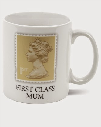 Stamp Collection - First Class Mum Mug