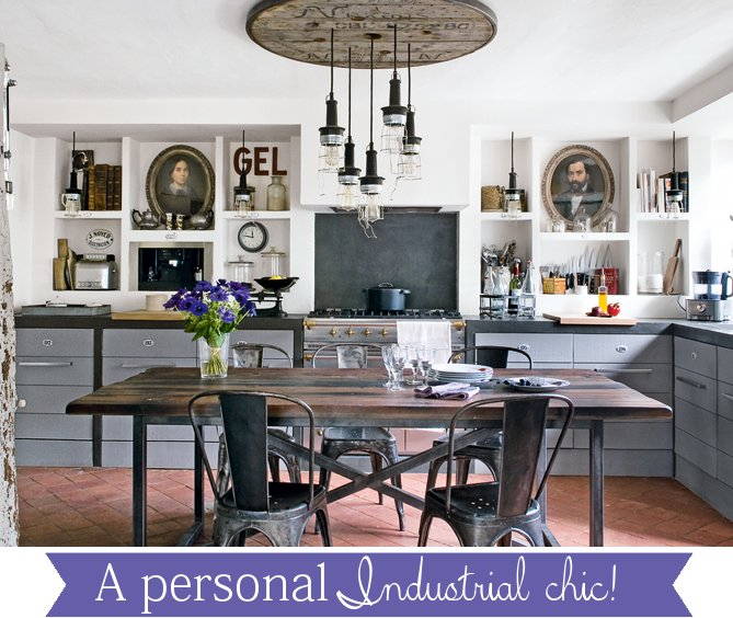A personal Industrial Chic! - Home Shabby Home | Arredamento ...