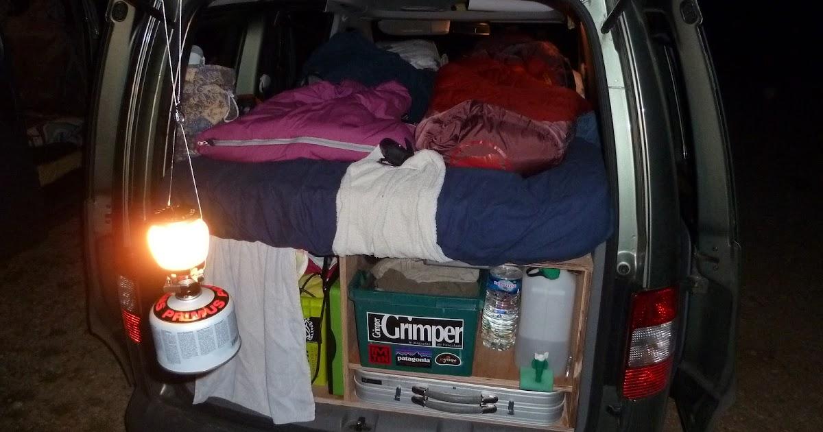 grimpe ici et ailleurs achat et am nagement de notre caddy. Black Bedroom Furniture Sets. Home Design Ideas