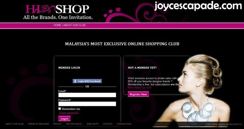 hishop malaysia 39 s most exclusive online shopping club joy 39 n 39 escapade. Black Bedroom Furniture Sets. Home Design Ideas