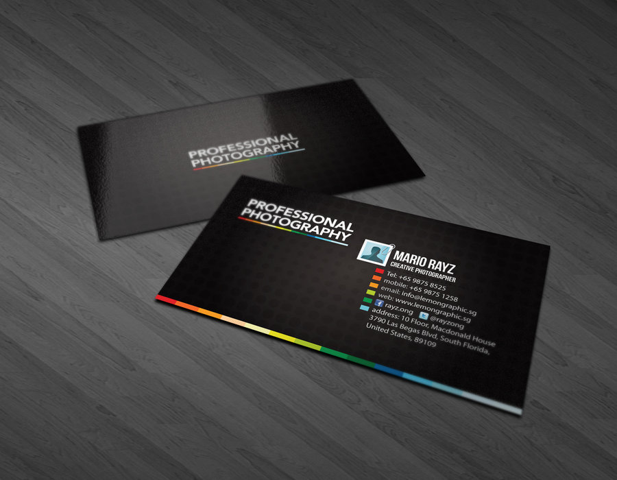 30) Business Card