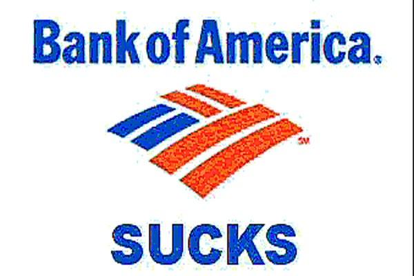 Will america bank suck the entire