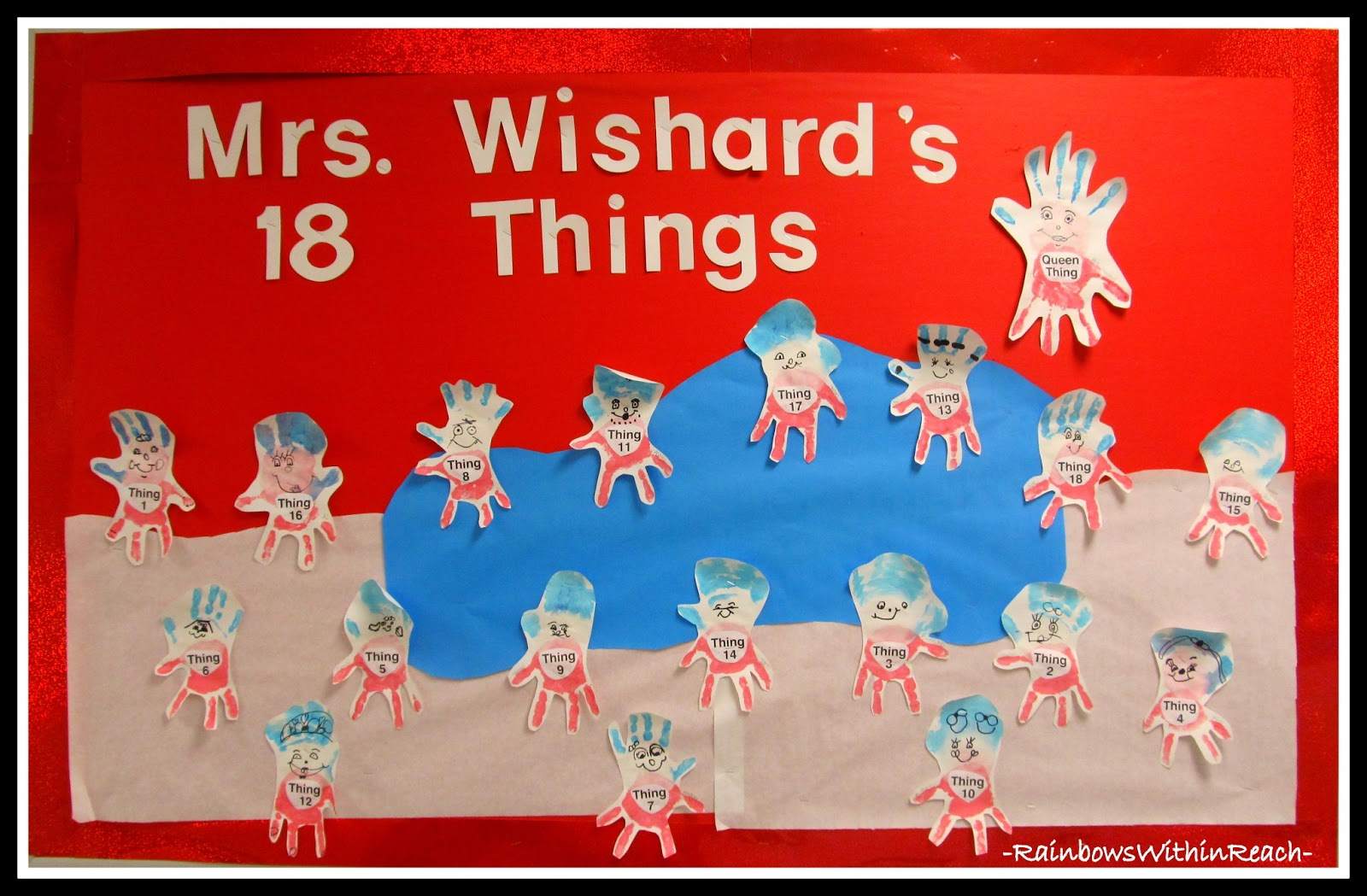 Lucky Mrs. Wishard to have 'only' 18 THINGS to teach.