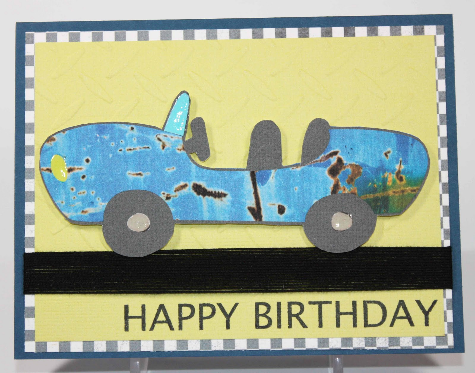 Simply Pam Simply Male Bday Card – Nascar Birthday Cards
